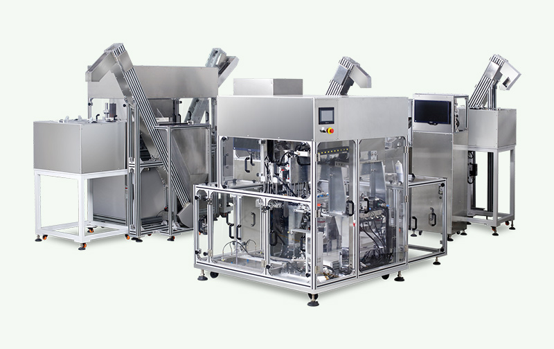 Infusion Cap Automatic Checking AssemblyPackaging Equipments Production Line